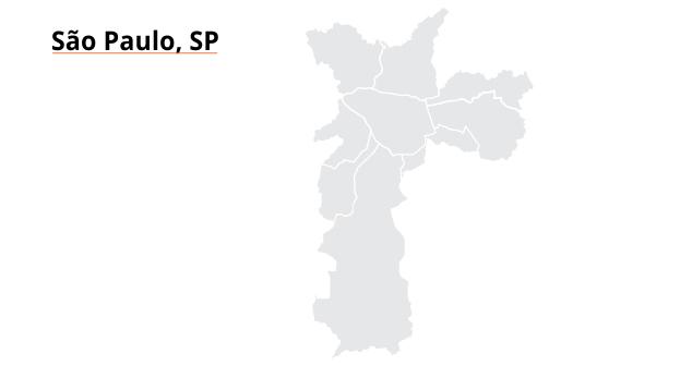 mapa São Paulo SP
