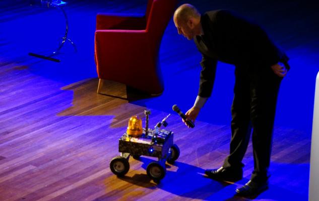 robô premiado