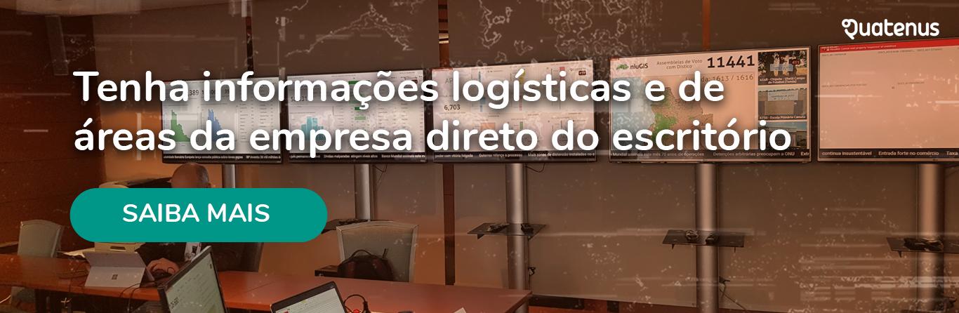 informações logísticas - centro de operações luís simões