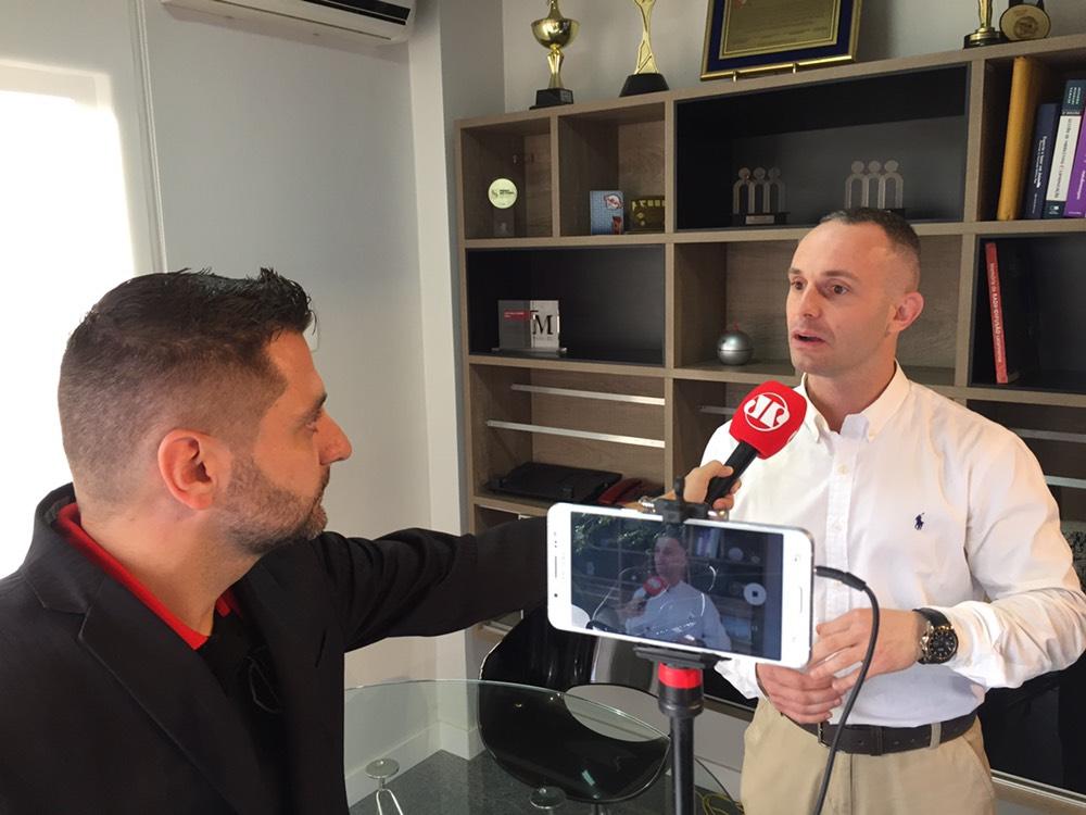 Ricardo Dalbosco (Quatenus) em entrevista na Rádio Jovem Pan Joinville - #EmpreenderEmJoinville