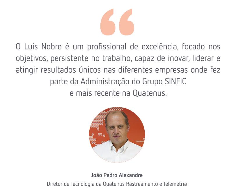 Comentário João Pedro sobre Luís Nobre